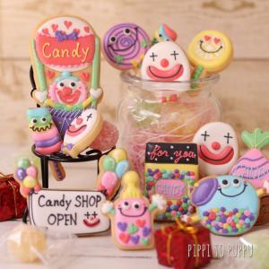 【6月募集】ピエロのキャンディ屋さんアイシングクッキーレッスン