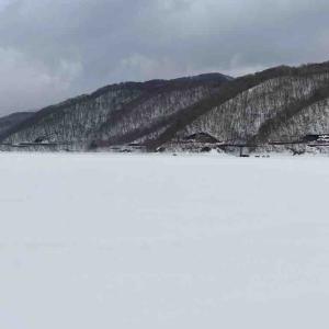 2月23日桧原湖 ワカサギ撃沈