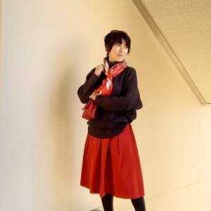 ★自分に自信が持てない時にすること~大好きな洋服「赤いスカート」を履く
