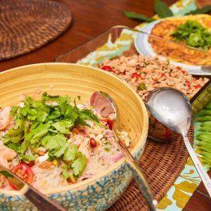ユーロカップの夜はなぜかタイ料理パーティー