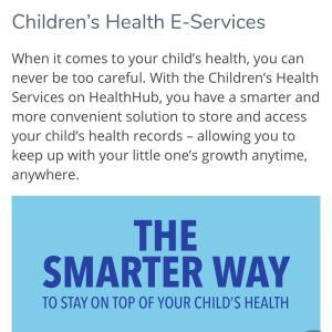 さすがシンガポール 母子手帳はもういらない?予防接種もオンラインでチェックできる!