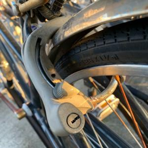 自転車の鍵をなくす