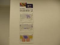 大きなキーボードの図を作る