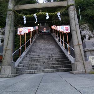 近所の 神社の 夏祭り