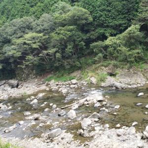 愛媛県肱川上流