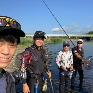 エクセル鮎釣り研修