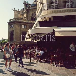 コロナ打撃が最小減。パリの活気ある地区