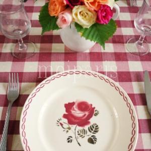 花をブーケに飾り直してフレンチイタリアン