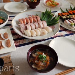 2021パリの新春。年に1度の寿司ざんまい