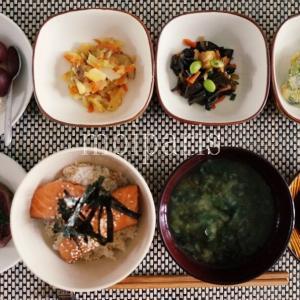 フランス人がきっと気に入る和食、鮭丼