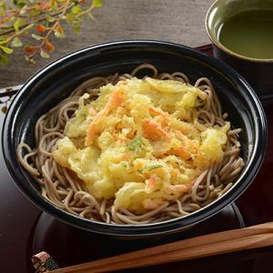 コンビニ最高!その1野菜かきあげ天ぷらそば