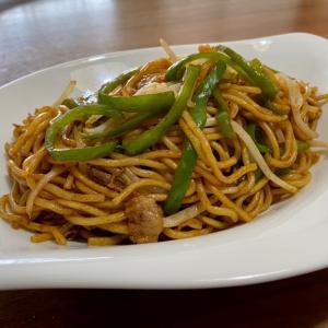 シンプル太麺焼きそば、はるみ流 ♪