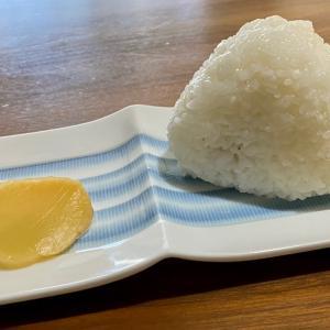 美味しいお米で塩むすび !