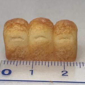 ミニチュアクラフト講座:食パンたち: