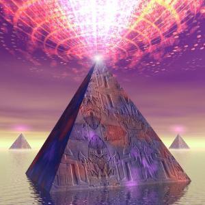 古代の宇宙人 - 隠されたピラミッド 2/4