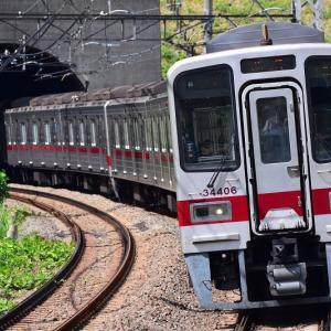 半蔵門線、田園都市線乗り入れ運用から撤退する東武30000系 2018年
