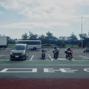 東北のバイク乗りMTGで細倉鉱山探検隊