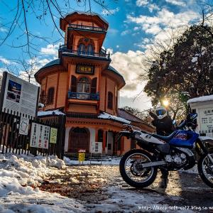 冬の千歳山トレッキング