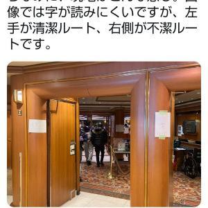 【新型コロナウィルス】【これはあかん】クルーズ船「ダイヤモンド・プリンセス号」の内部画像