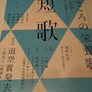 【文芸雑誌】『角川短歌』2020年6月号 〜短歌・文学が好きなひとたちへのエール〜