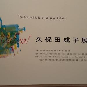 「特別展 Viva Video! 久保田成子展」に行ってきました! 〜「性=生」を形にすること〜