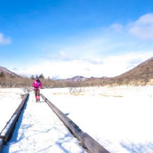 赤城の長七郎山で雪山あるき