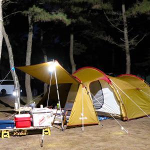 テントを新しくしたよ!(スノピヴォールト)