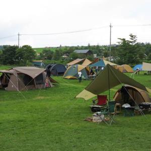 夏休みは嬬恋キャンプ
