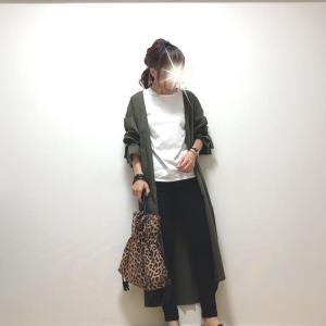 お気に入りのシャツワンピと【GU】大活躍な190円アイテム