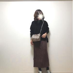 【coca】太って見えない!!1000円だったニットスカート