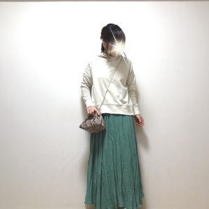 1000円OFFクーポン付きの人気トップス+気分が上がるカラースカート