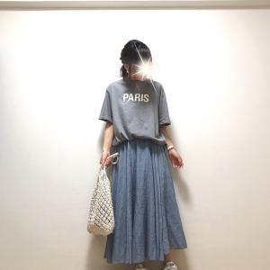 【coca】驚き価格のプチプラTシャツ+色違いも欲しくなる人気スカート