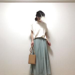 【GU】やっぱりコレ好き❤︎なアイテム+大人気高見えスカート