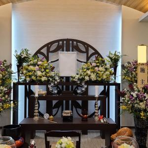 696.家族葬 花祭壇