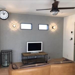 【お客様事例】コンクリートエフェクトを使ってお家の壁をスタイリッシュに変身!