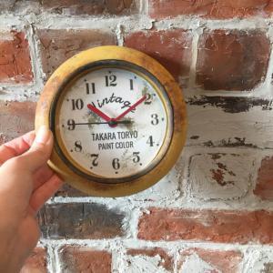お家の時計をアメリカンジャンクスタイルにリメイク〓