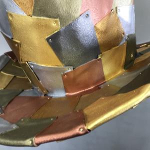 【展示サンプル作成】東急ハンズ池袋店様/COSボードを使ったスチームパンク風帽子づくり/塗装編