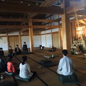 元極道の仏教者 新垣玄龍氏に学ぶ法話と瞑想の会 報告