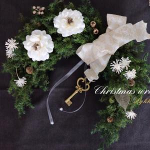 オーダーも♡幸せを呼ぶクリスマスの馬蹄形ホースシューリース♪