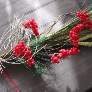紅白お飾り♡シンプルでモダンなお正月飾りレッスン♪