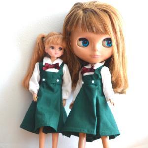 グリーンの制服をふたたびお作りしました!/札幌には雪が降りました