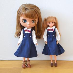 紺色の制服もお作りしました♪18(月)夜20時に販売いたします/前に住んでいた地域の探索