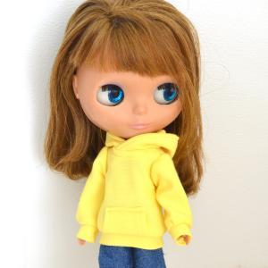 黄色のパーカーをお作りしました!/本日20時に販売を開始いたします!