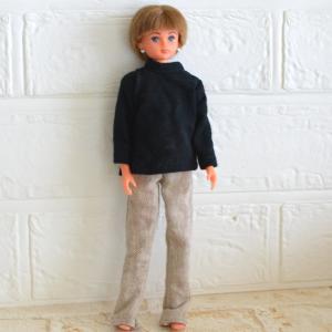 リカちゃんボーイフレンドサイズのパンツ/コンタクトレンズを作りに行ったら