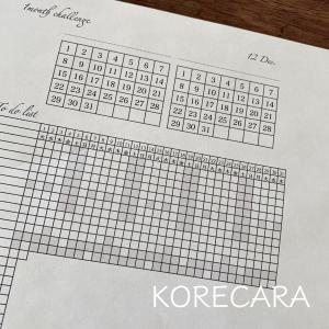 || 『1ヶ月チャレンジシート』実験中♪楽しくなる手帳完成しました ||
