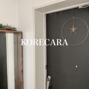 || 玄関のシンプルクリスマスリース♪IKEAの799円(!)グッズが活躍 ||