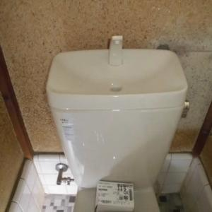 千葉県船橋市 INAX トイレ DT-Z180HU-AQ/BN8 フラッパー弁 (市矢船海)