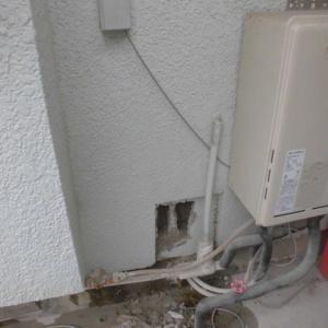 千葉県市川市 給水管ピンホール 水漏れ      (賃石鬼)