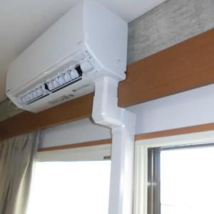 千葉県市川市 Panasonic製エアコン 取り付け 美観 ダクト配管