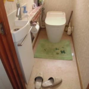 千葉県市川市 パナソニック製Panasonic トイレ アラウーノ CH1002WS 交換 洗剤